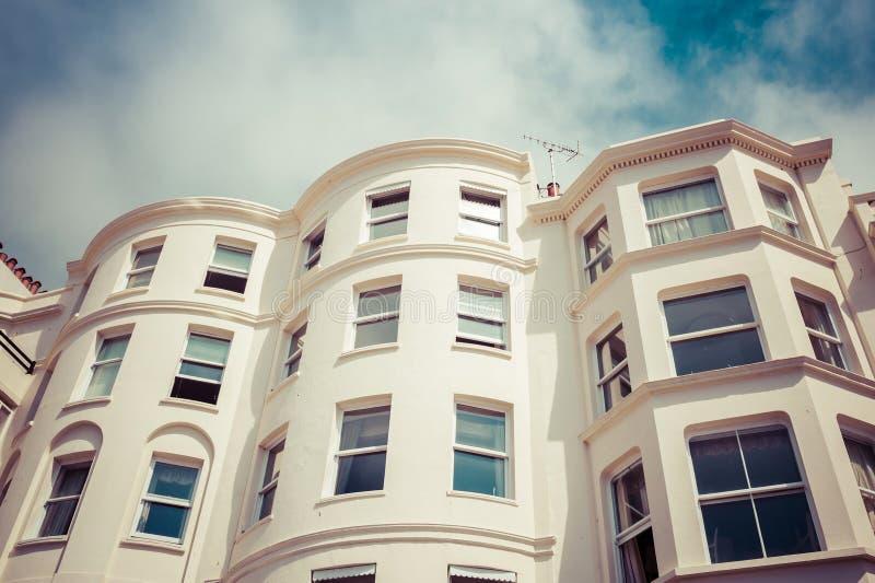 Casa Semi-detached foto de stock royalty free