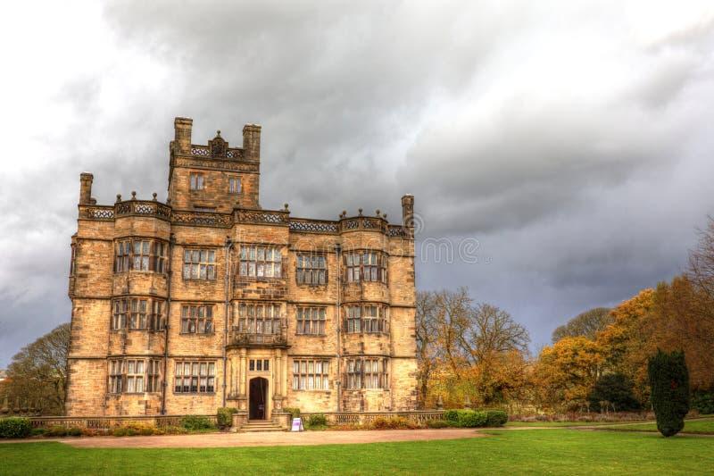 Casa signorile inglese fotografia stock libera da diritti