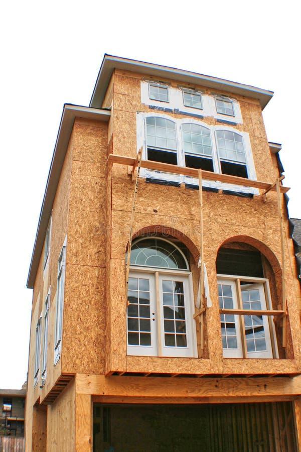 Casa sob a construção foto de stock