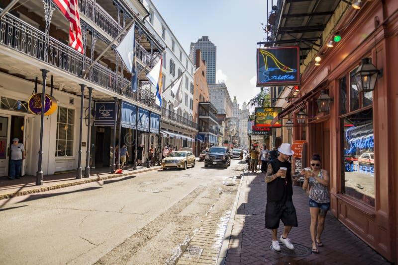 Casa storica nel quartiere francese di New Orleans immagine stock