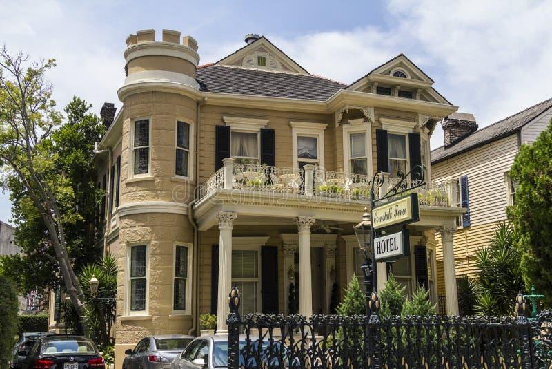 Casa storica a New Orleans fotografia stock libera da diritti