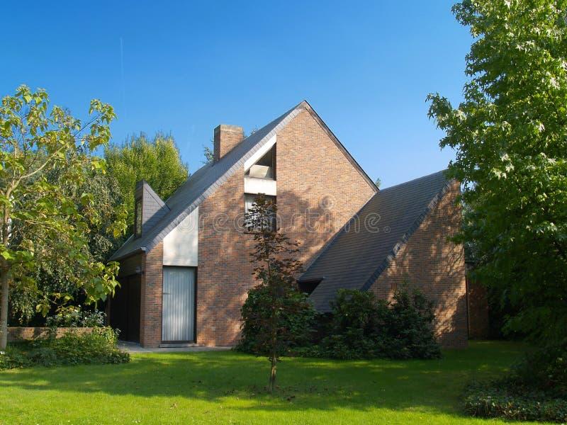 Casa suburbana. fotografia stock