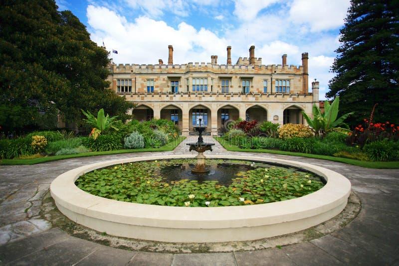 Casa Sydney do governo fotografia de stock