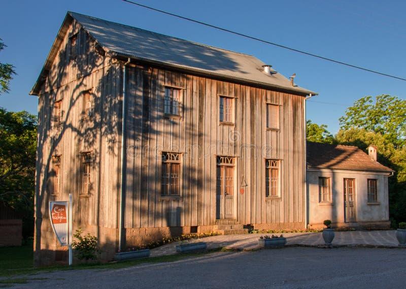 Casa típica Bento Goncalves Brazil imagens de stock royalty free