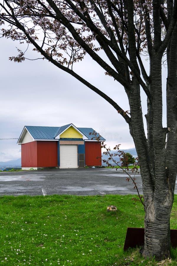 Casa típica del japaness fotografía de archivo