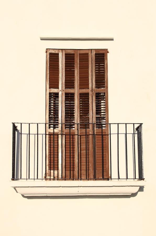 Casa típica em Ibiza imagem de stock