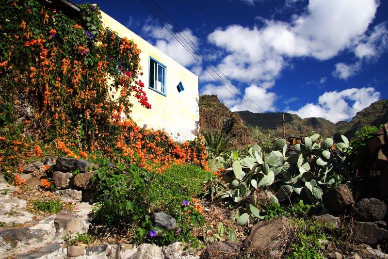Casa típica Gomera imagen de archivo libre de regalías