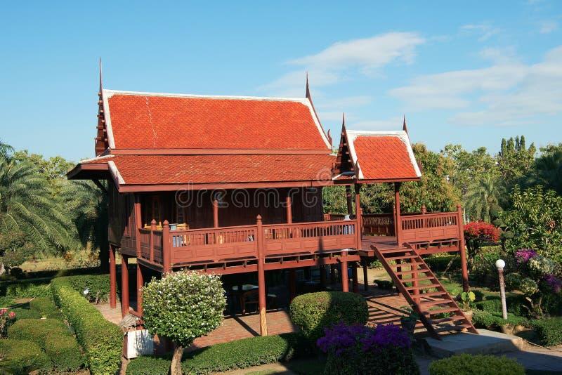 Casa tailandesa imagens de stock royalty free