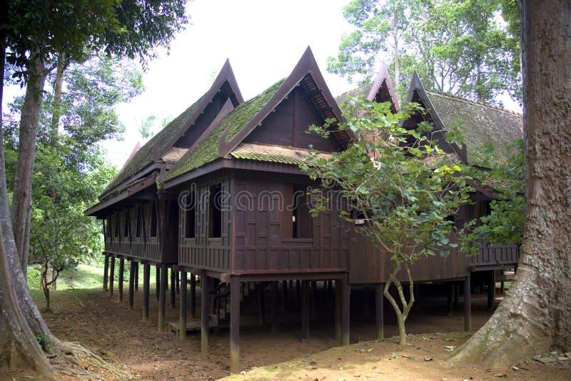 Casa tailandesa tradicional foto de stock royalty free