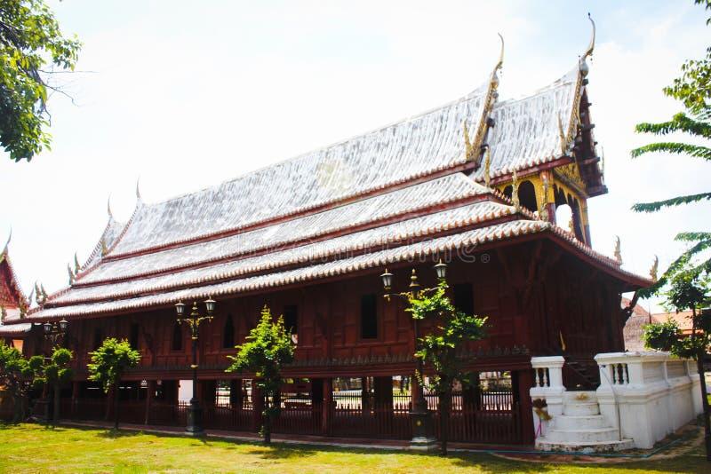 Casa tailandesa tradicional fotos de stock royalty free