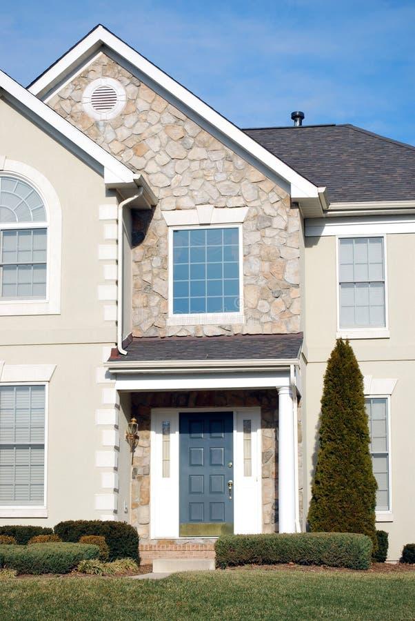 Casa tipica immagine stock