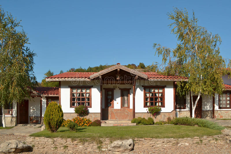 Casa tradicional imagens de stock