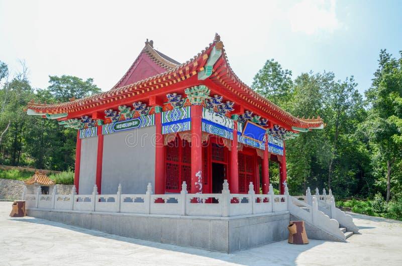 Casa tradicional chinesa do lingote foto de stock royalty free