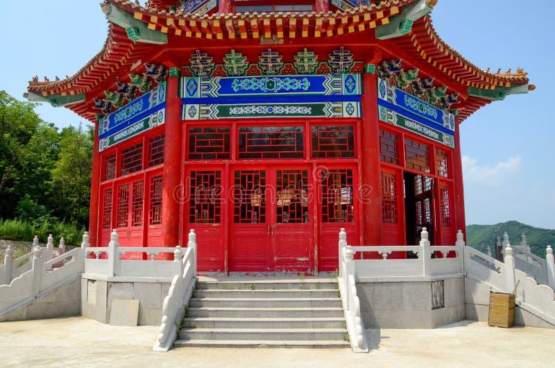 Casa tradicional chinesa do lingote imagens de stock