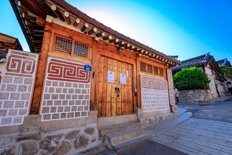 casa tradicional coreana pueblo de bukchon hanok el 19 de