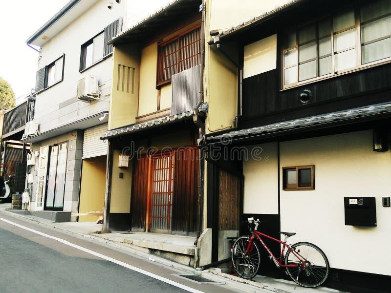 Casa tradicional de Japón Kyoto fotos de archivo libres de regalías