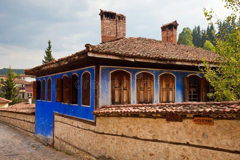 Casa tradicional de Koprivshtitsa imagen de archivo libre de regalías