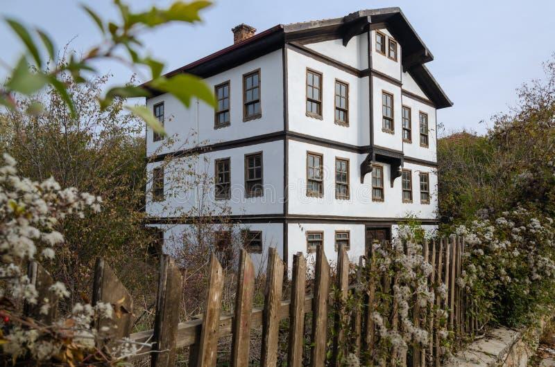 Casa tradicional de Ottoman de Kastamonu en Turquía fotos de archivo