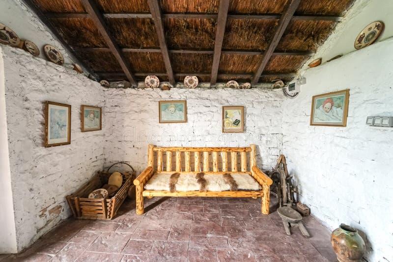 Casa tradicional de Romênia em Histria imagem de stock royalty free