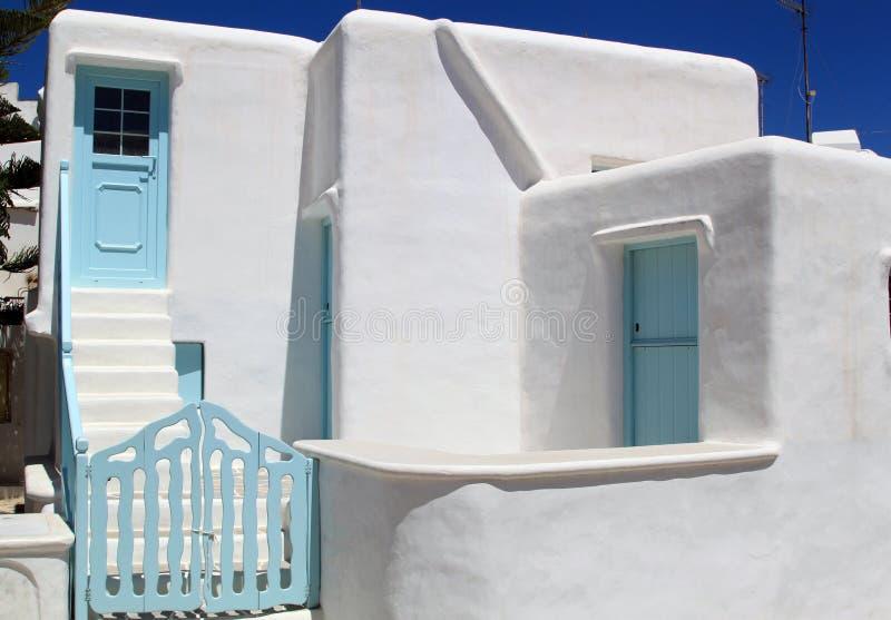 Casa tradicional en Grecia fotografía de archivo libre de regalías