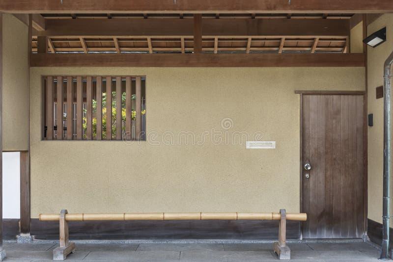 Casa tradicional en Kyoto, Japón foto de archivo libre de regalías