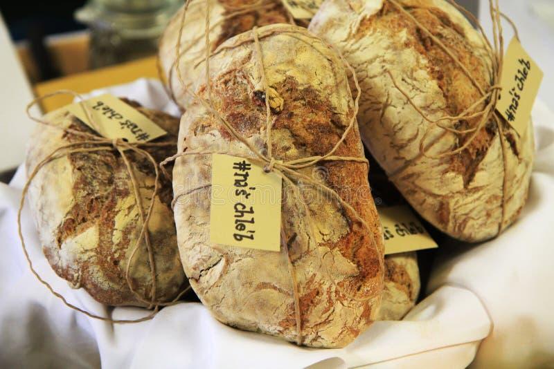 a casa tradicional fez o pão checo foto de stock