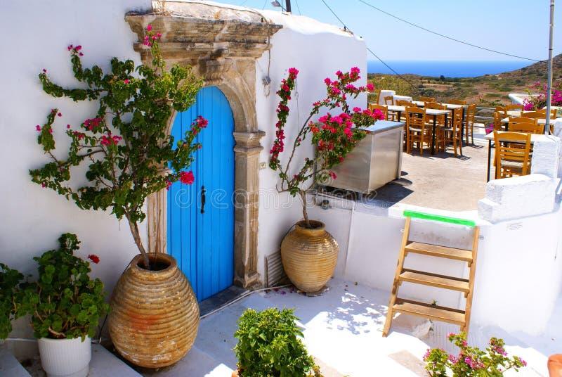 Casa tradicional griega en Kithira imágenes de archivo libres de regalías