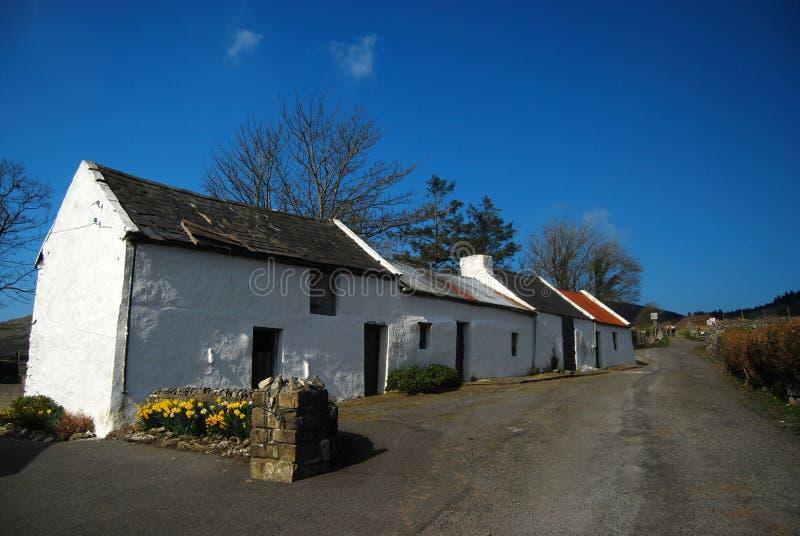 Casa tradicional irlandesa foto de stock