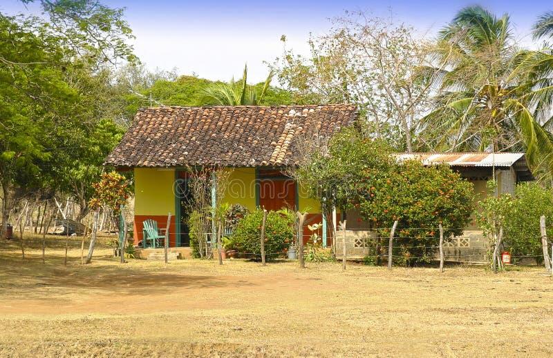 Casa tradicional típica em Panamá fotografia de stock royalty free