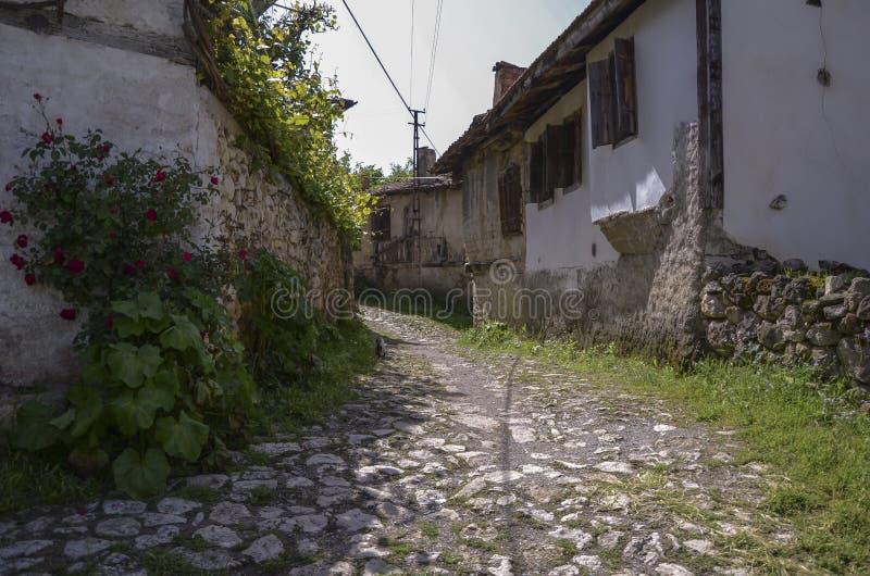 Casa tradizionale dell'ottomano in Safranbolu, Turchia Safranbolu A rivaleggia fotografia stock