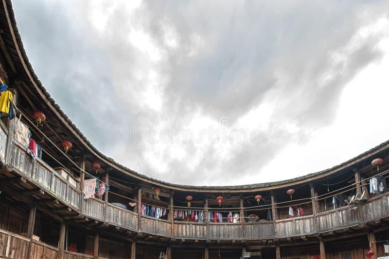 Casa tradizionale di hakka fotografia stock