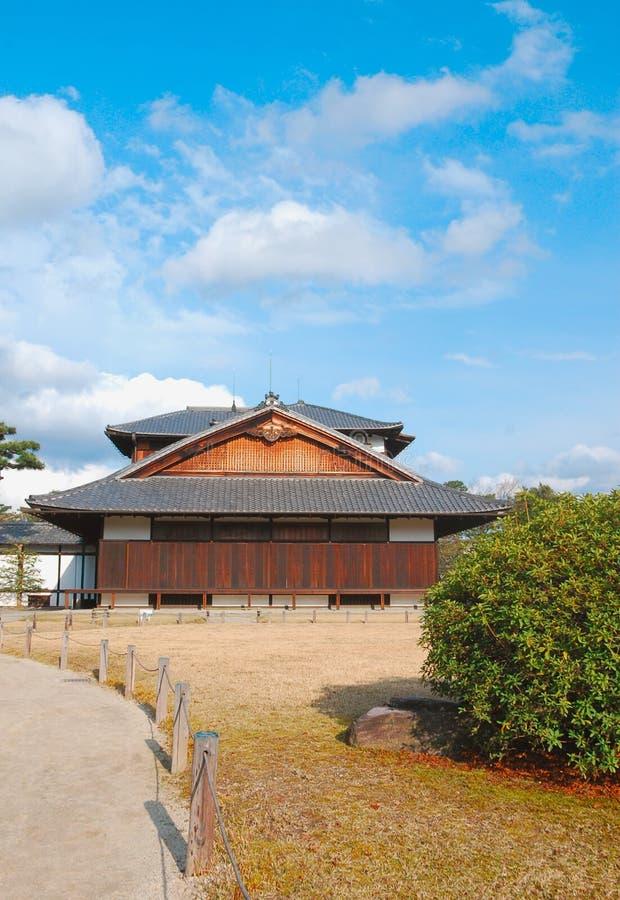 Casa tradizionale di stile giapponese fotografia stock libera da diritti
