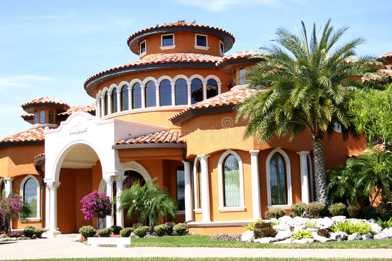Casa in tropici immagine stock libera da diritti
