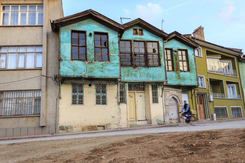 Casa turca velha em Konya fotos de stock royalty free