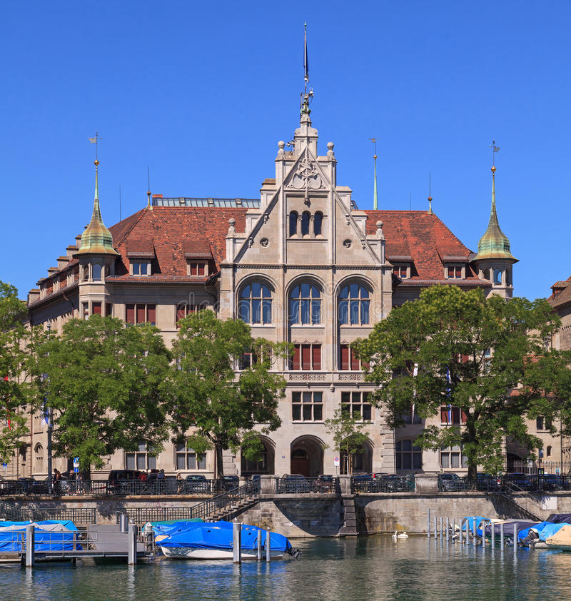Casa urbana di Zurigo fotografia stock