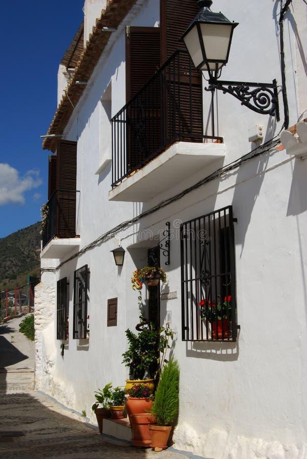 Casa urbana, Frigiliana, España. foto de archivo libre de regalías