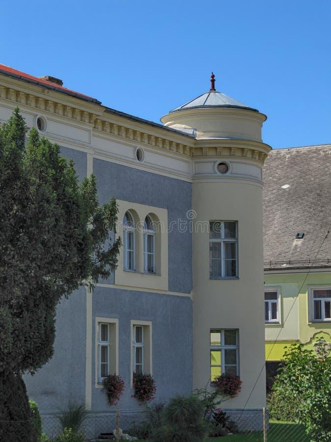 Casa urbana velha fotos de stock