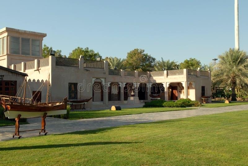 Casa velha árabe fotografia de stock