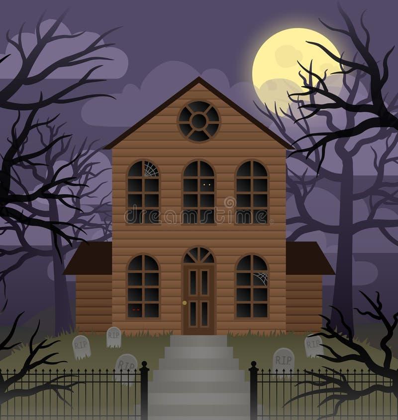 Casa velha ilustração do vetor