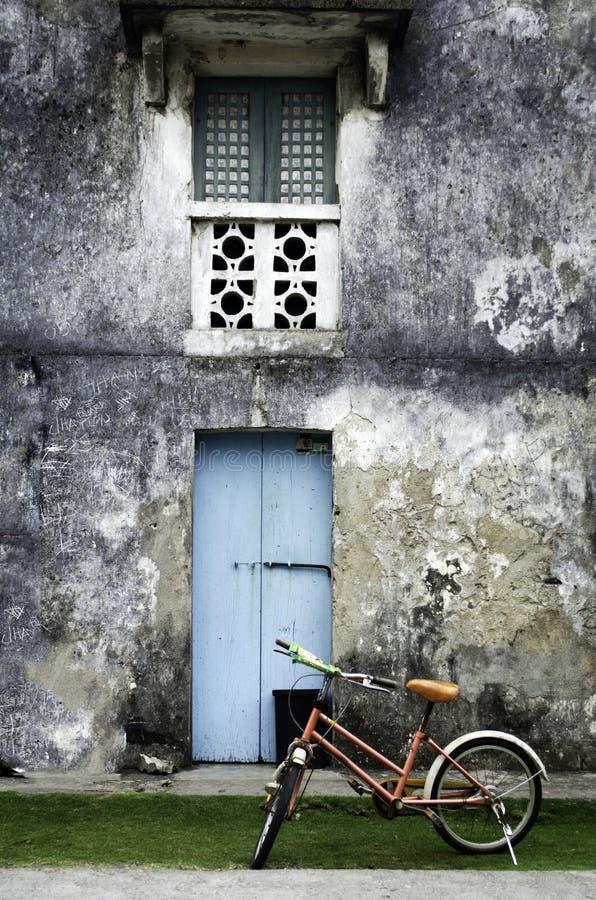 Casa velha Batanes Filipinas de Ivatan imagens de stock