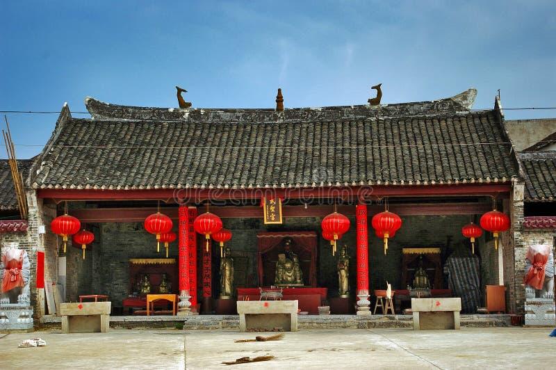 Casa velha chinesa fotografia de stock royalty free