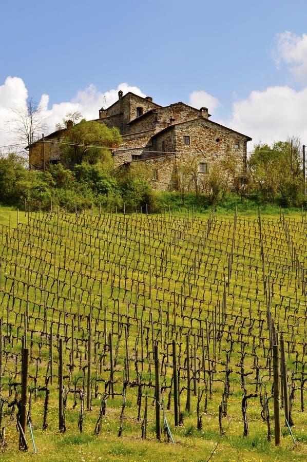 Casa velha de Tuscan imagem de stock royalty free