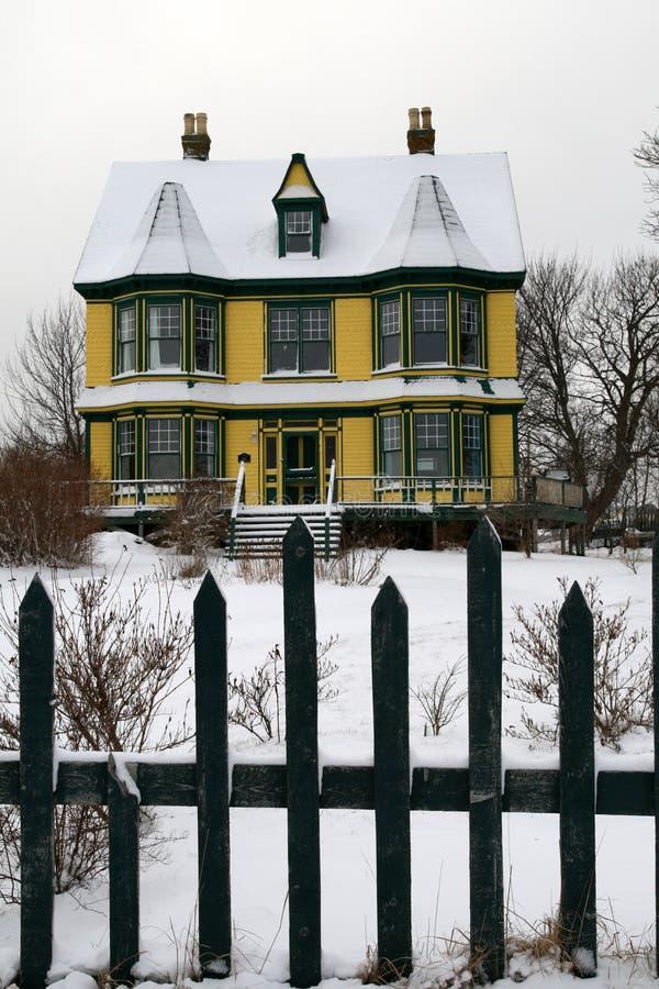 Casa velha do Victorian fotos de stock royalty free