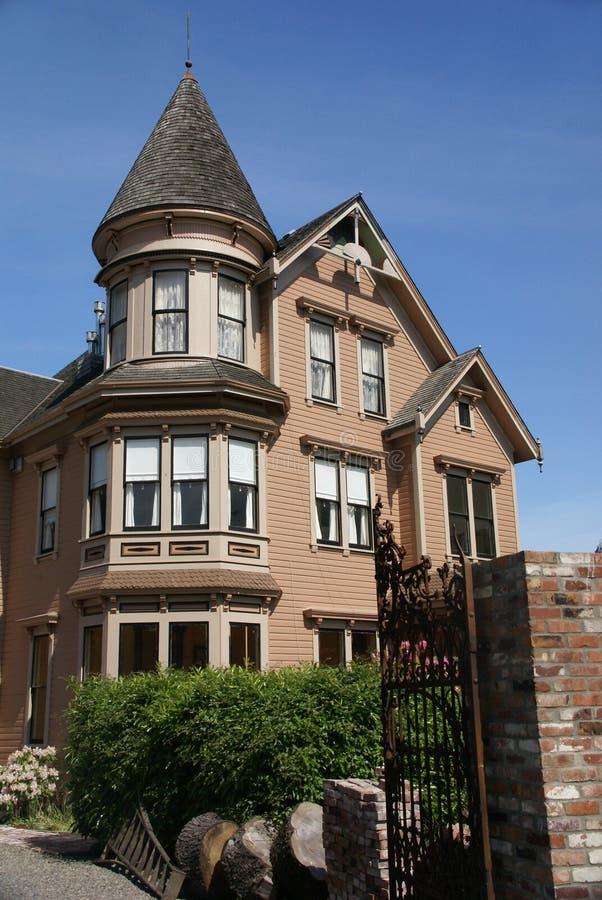 Casa velha do Victorian imagens de stock