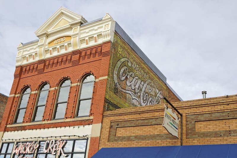 Casa velha em Livingston, Montana foto de stock royalty free
