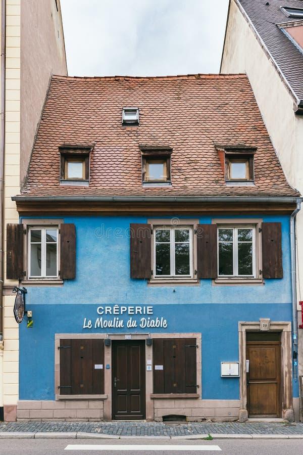 Casa velha em Strasbourg fotos de stock royalty free