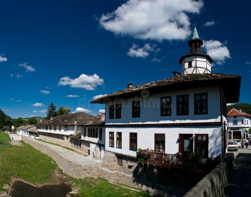 Casa velha em Triavna, Bulgária fotos de stock royalty free