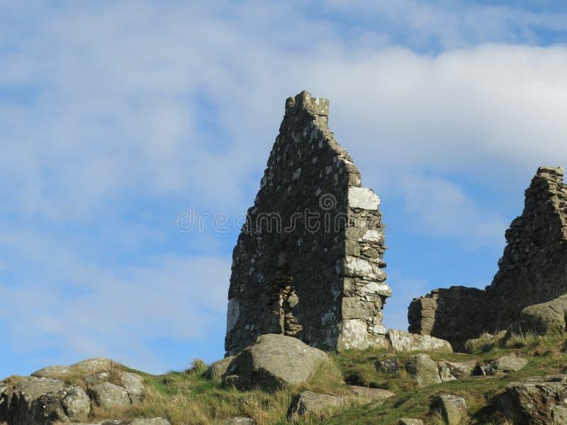 Casa velha escocesa imagem de stock royalty free