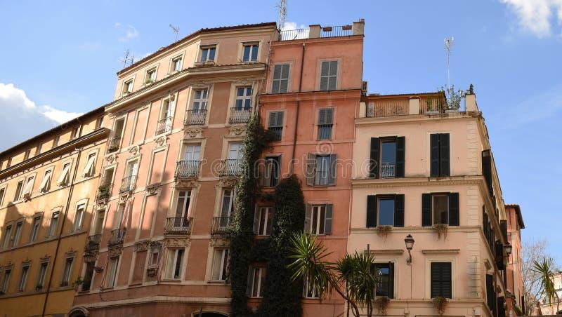 Casa velha no estilo europeu fotografia de stock