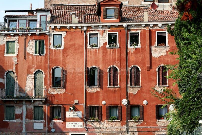 Casa Venetian velha fotos de stock royalty free